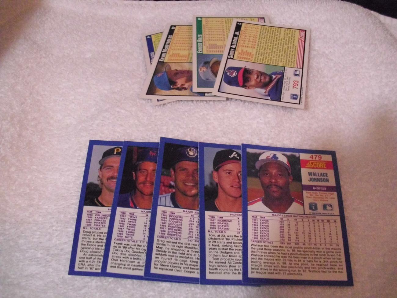 Major League Baseball Cards Lot #4