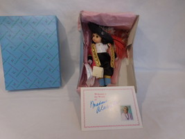 """Madame Alexander Peter Pan's Captain Hook 8"""" Doll 470 With Box + Paper - $38.02"""