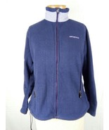 Patagonia Women's M Blue Full Zip Fleece Polartec R Series Jacket Sweate... - $55.93