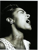 `BILLIE HOLIDAY Autographed Authentic Signed Photo w/COA - 72633 - $1,125.00