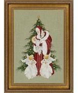 Song Of Christmas cross stitch Lavendar & Lace Marilyn Leavitt-Imblum - $12.60