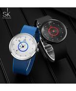 SK® Watches Mens Watches Brand Fashion Sport Watches Men Waterproof Quar... - $28.65