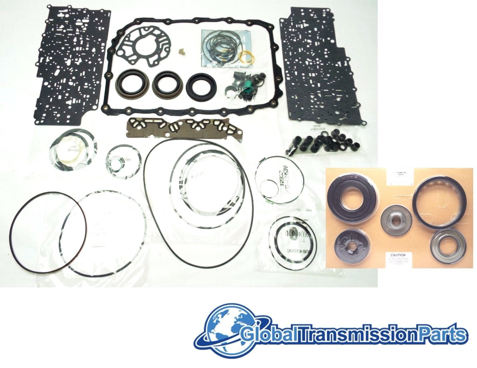 GM 6L80 Transmission Overhaul Rebuild Kit w/ and 50 similar items