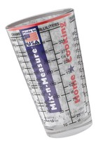 2-Cup Mix-N-Measure Glass Measuring Cup, Clear - £15.27 GBP