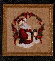 Spirit Of Christmas cross stitch Lavendar & Lace Marilyn Leavitt-Imblum - $10.80
