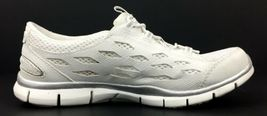 Skechers Gratis Going Places Women's White Memory Foam Insole Shoes 22603 Size 6 image 4