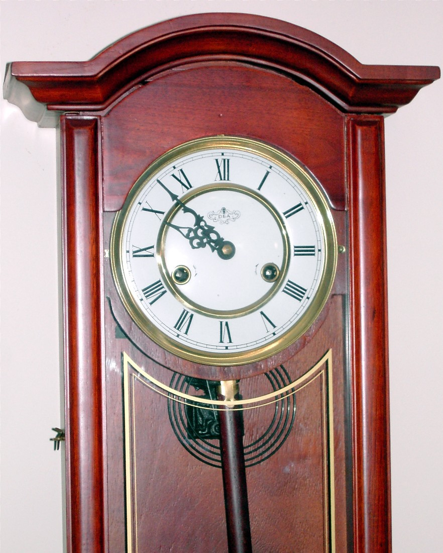 DA Wind Up Wall Clock with Chime and 50 similar items