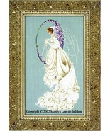 Spring Bride cross stitch Lavendar & Lace Marilyn Leavitt-Imblum - $14.40