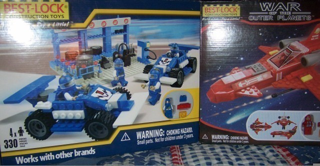 Best Lock Set of 2 Outer Planet Hawk & Race Cars NEW