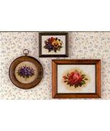 Tea Garden floral cross stitch Lavendar & Lace Marilyn Leavitt-Imblum - $10.80