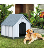 Plastic Medium-Sized Pet Puppy Shelter Waterproof Ventilate Dog House - $142.45