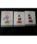 3 pcs Hallmark Disney 12 Months of Fun Keepsake Ornament Daisy Donald Duck - $29.21