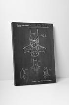 Batman Mask Patent Print Gallery Wrapped Canvas Print. Bonus Patent Wall Decal! - $44.50+
