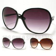 WOMENS Oversized Round Fashion Sunglasses Celebrity Retro Style New - $9.95
