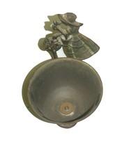 Vintage Israel Crinoline Lady Decorative Trinket Bowl Dish 1960's image 2