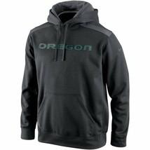 "Nike Oregon Ducks Shield Nailhead Pullover Dark GR ""Large"" - $23.76"