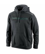 "Nike Oregon Ducks Shield Nailhead Pullover Dark GR ""Large"" - $23.76"