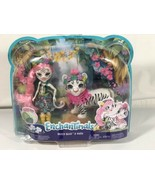 Mattel Enchantimals Tadley Tiger & Kitty Dolls Junglewood Characters New - $12.86