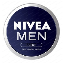 TOP NIVEA MEN CREAM  Face Body & Hands Moisturiser Dry Skin - $5.88