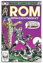 Rom Spaceknight issue 36 Fine- Bill Mantlo Sal Buscema Nov 1982 - $5.50