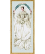 White Lace cross stitch Lavendar & Lace Marilyn Leavitt-Imblum - $12.60