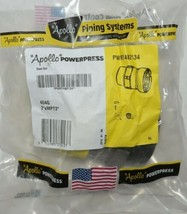 Apollo Powerpress Male Thread Adapter 2 Inch Valve Pwr7482134 image 1