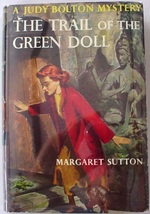 Judy Bolton no.27 The Trail of the Green Doll 1st Edition Margaret Sutto... - $45.00