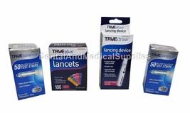 100 TRUE Balance Test Strips Exp 2019+ TRUEBalance+100 33G Lancets+lancet device - $21.78