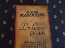 Boyce Moto Meter Box with paper contents but no motor meter image 2