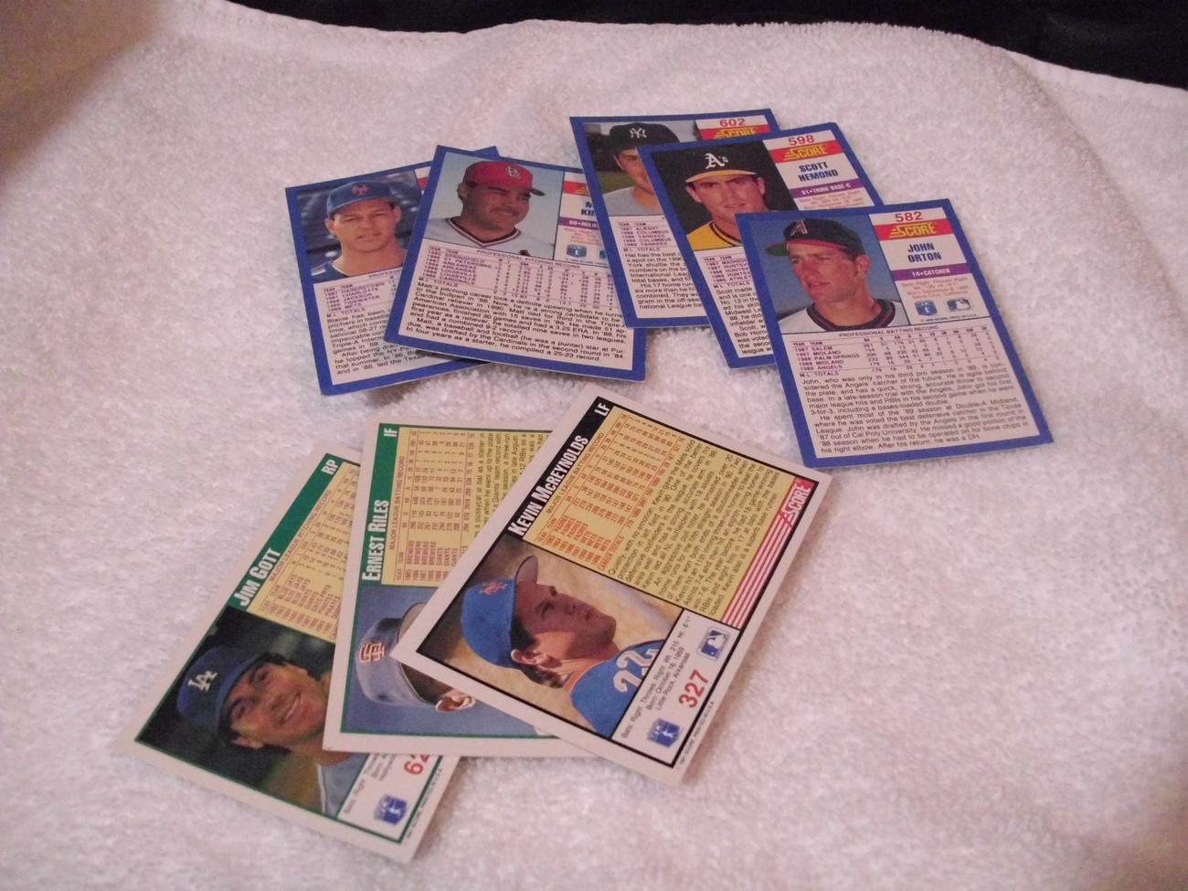 Major League Baseball Trading Cards Lot #5
