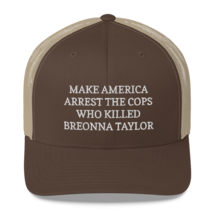 Make America Arrest The Cops Hat / Make America Arrest The Cops / Trucker Cap image 9