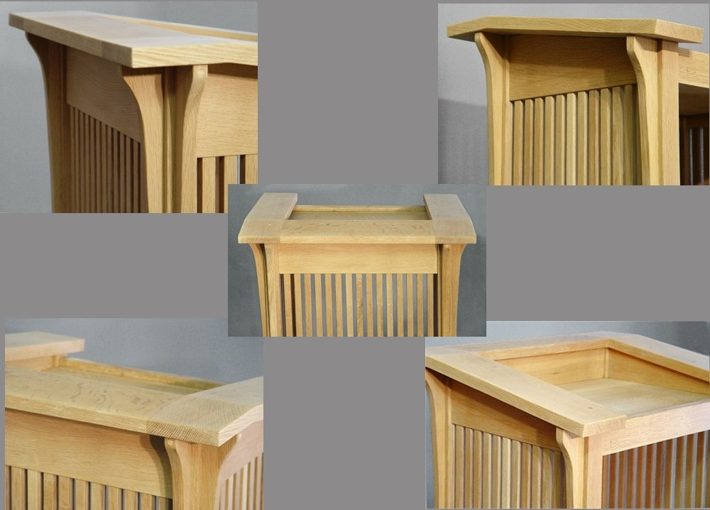 PODIUM, Pulpit, Lectern, Prarie Style, Mission, Arts and Crafts'QUARTERSAWN  OAK