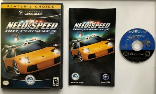 ☆ Need for Speed Hot Pursuit 2 (Nintendo GameCube 2004) Complete in Case Game ☆