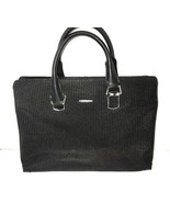 Sammons Black Laptop Faux Leather Computer Bag - $24.24