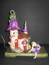 Enchanted Fairy Tulip Night Lamp with electric cord and  on/off switch - $49.99