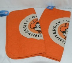 Great Finds Oklahoma State Place Mats CQ1261 Orange Black Set Of Two image 2