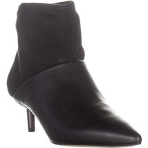 Donald J Pliner Bale Pull On Kitten Heel Ankle Boots, Black, 8 US - $158.39