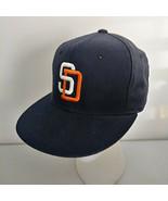 Vintage San Diego Padres New Era Pro Model Hat Cap Diamond Collection 6 ... - $33.81