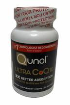 Qunol Ultra CoQ10 100 mg Supplement 3x Better Absorption 30 Count Exp: 11/2024 - $17.81