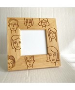 Picture Frame Bamboo Square Faces Photo - $11.87