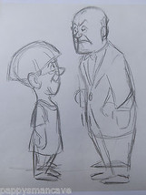 ORIGINAL DISNEY ARTIST, LEN SMITH,THREE STOOGES SKETCHES, CONCEPT DRAWING 5 - $18.99