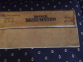 Boyce Moto Meter Box with paper contents but no motor meter image 5