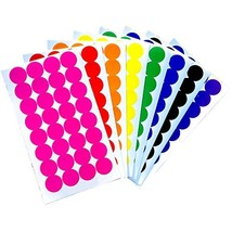 Tag-A-Room Color Coded Dot Stickers, 256 Count - $10.24