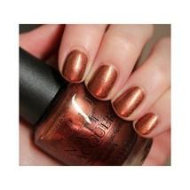 OPI Australia BRISBANE BRONZE Golden Brown Shimmer Nail Polish Lacquer .... - $23.49
