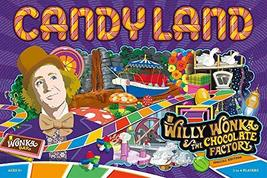 Candy Land Willy Wonka and the Chocolate Factory Board Game | Themed Candy Land  - $29.95