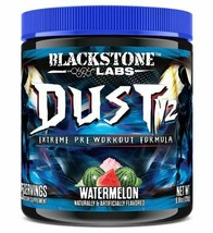 Blackstone Labs DUST V2 Extreme Pre Workout 25 Servings Watermelon Flavor - $31.78