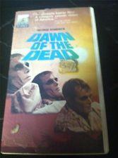 Dawn Of The Dead VHS Thorn / EMI Clamshell Hard Case George Romero Cult Classic