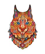 """Unidragon Wooden Jigsaw Puzzles """"Gentle Lynx"""" Wooden Puzzles for Adults ... - $39.99"""