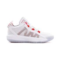 Damian Lillard x Adidas Dame 6 (White/ Scarlet Red/ Black) Men 8-13 - $144.99