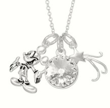 Disney Dreams Come True Necklace Mickey Mouse Crystals From Swarovski Gi... - $24.25